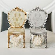 Edible Wedding Favors: what elegant vintage favor boxes