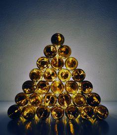 Atelier Decor: DIY_ árbol de Navidad con botellas recicladas