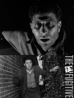 Bill Raisch as the one-armed man in The Fugitive (1963-67, ABC). Part 2 of the series finale was the most watched television series episode at the time, with a 72 percent share of American households tuning in.