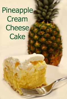 Pineapple Cream Cheese Cake-use crushed pineapple instead and mix in with frosting.