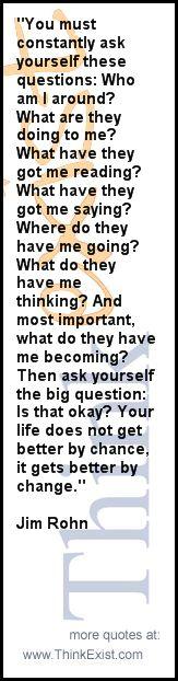 - Jim Rohn