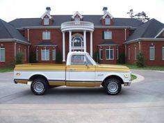 1972 Chevy Super Cheyenne 402 V8 P/S P/B A/C Tilt ~ ♥ Buttercup Truck ♥