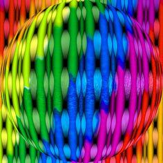 Rainbow Stripes by Marco Braun