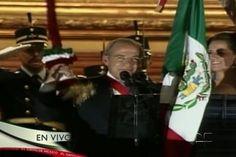Felipe Calderón da su último grito de Independencia