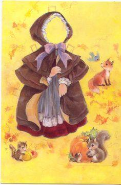 Para una chica especial - Acción de Gracias la tarjeta # 2