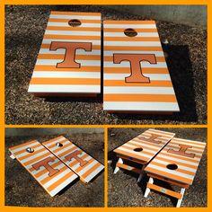 A Tennessee Volunteers Cornhole board set!   www.bklboards.com