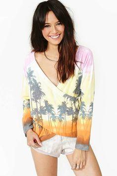 Sunset Beach Knit