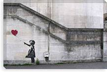 There Is Always Hope Balloon Girl By Banksy Canvas Print #2168