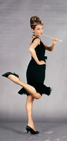 "Audrey Hepburn - ""Breakfast at Tiffany's, 1961"