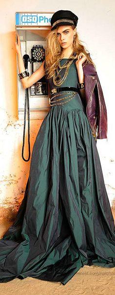 Cara Delevigne By Lorenzo Marcucci For Dsquared2s Resort 2013 Collection    love texture!