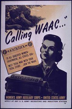 Women of World War II by Jennifer Holik via  Archives.com