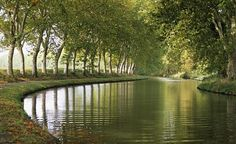 A portion of the Canal du Midi - wonderful bike trail