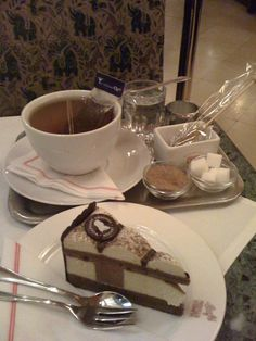 Dessert & Tea at Cafe Weimar, 10 minutes from the Vienna city center, near the Volksoper