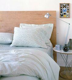 Sänggavel i plywood