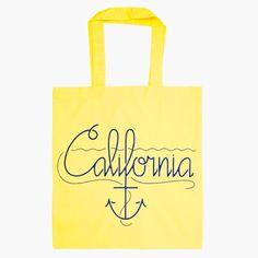 Anchored in California Tote