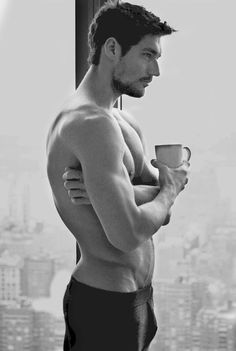 David Gandy - Coffee anyone? Yes please!