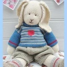 Free Knitting Pattern For Mr Bean s Teddy Bear : Crochet 26 on Pinterest Crochet Teddy Bears, Teddy Bear Patterns and Teddy ...