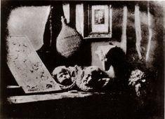 L'Atelier de l'artiste - Louis Daguerre : First photograph