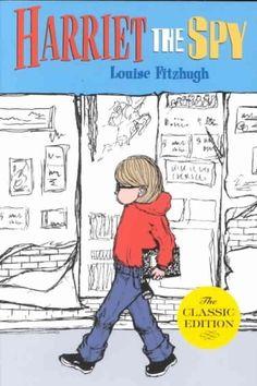 Harriet the Spy, Louise Fitzhugh   15 Books To Spark Your Feminist Awakening