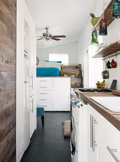 A 196-square-foot house born of architectural know-how, an enterprising spirit, and just over $11,000 has become an inspiration to a growing community of tiny-house enthusiasts.