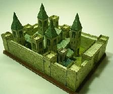 castillo paper rose, craft tutori, castles, model idea, paper architectur, paper doll, mediev castl, paper models, old churches