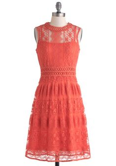 lovely lace dress for summer