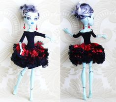 Monster High Clothes hand made Dress Jewelry by MonstersNight, $14.00