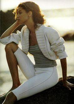 model super, 1980s model, femal model