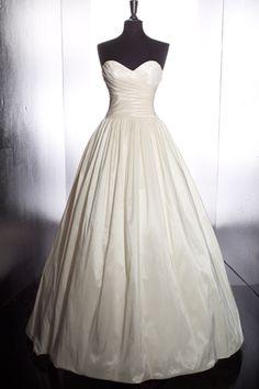 want. classic ballgown sweetheart neckline