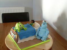 Monsters, Inc. cake magic, cake inspir, cake design, monstersinc, monsters inc, novelti cake, creativ cake, amaz cake, monster cakes
