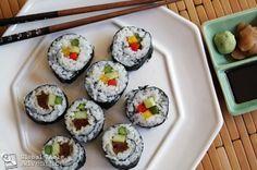 Make your own Vegetarian Sushi (Futomaki)