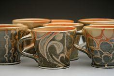 Shino Cups.jpg by Carmen K, via Flickr