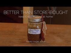 Better than store-bought: #DIY Honey-Sugar Body Scrub.