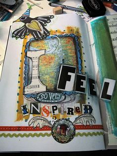 Inspired 2 Fly by shellypaints on Flickr
