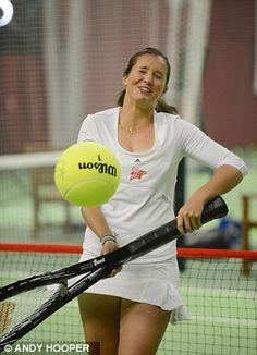 Tennis player Laura Robson
