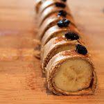 peanuts, butter banana, bananas, banana sushi, domest charm