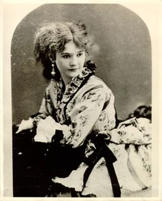 "Charlotte Mignon ""Lotta"" Crabtree   (1847-1924)  actress  whose early days as an entertainer during the California Gold Rush led to her immense popularity as the darling of the American stage and in England."