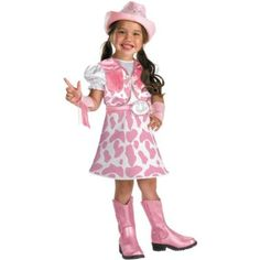 This Sheriff Callie's Wild West Inspired Costume will have your little girl pretending that she in charge of Nice and Friendly Corners.  Great for the birthday girl!
