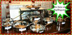 I want to WIN a 17 piece Cuisinart Cookware Set from @Buydig.com Internet's Digital Superstore! $600 value!! Ends 12/9/13 #ADIMHGG2013 #win #giveaway