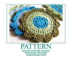 awesom pattern, pattern crochet, free pattern, coaster pattern, crochet coaster, crochet doili, coaster seasid, crochet patterns, crochet idea