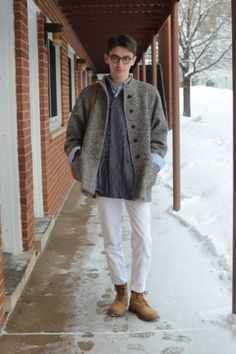This Fashionisto updates a basic oxford for a result that's anything but boring.