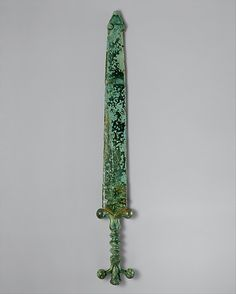 ancient celtic sword and scabbard