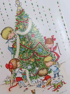 joan+walsh+anglund   Joan Walsh Anglund Christmas Stationery by VintageCocobytheLake