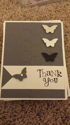 Homemade Card  Thank You