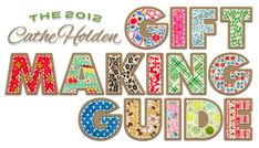 Awesome gift guide for all things handmade - tons of ideas!