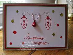 52 Christmas Card Throwdown Enamel Dots