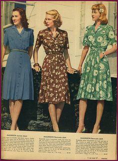 1940s vintage fabrics