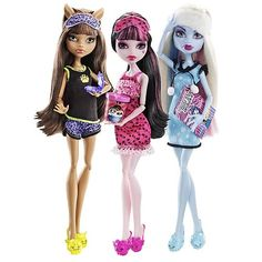 Monster High Dead Tired Dolls Wave 1 Case