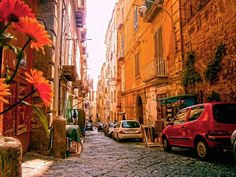 The streets of Naples are full of life.