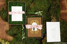 Charming Alice In Wonderland wedding invitations